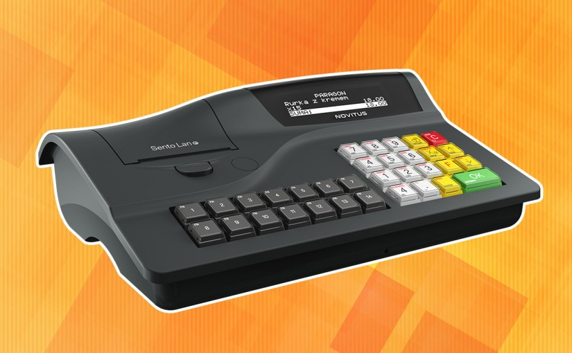 Novitus Sento LAN E - kasa fiskalna z kopią elektroniczną