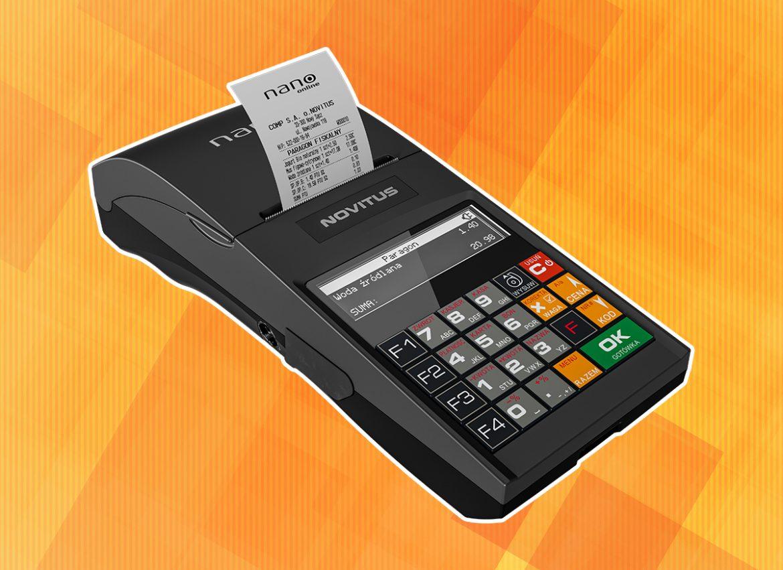 Novitus Nano Online - mobilna kasa fiskalna