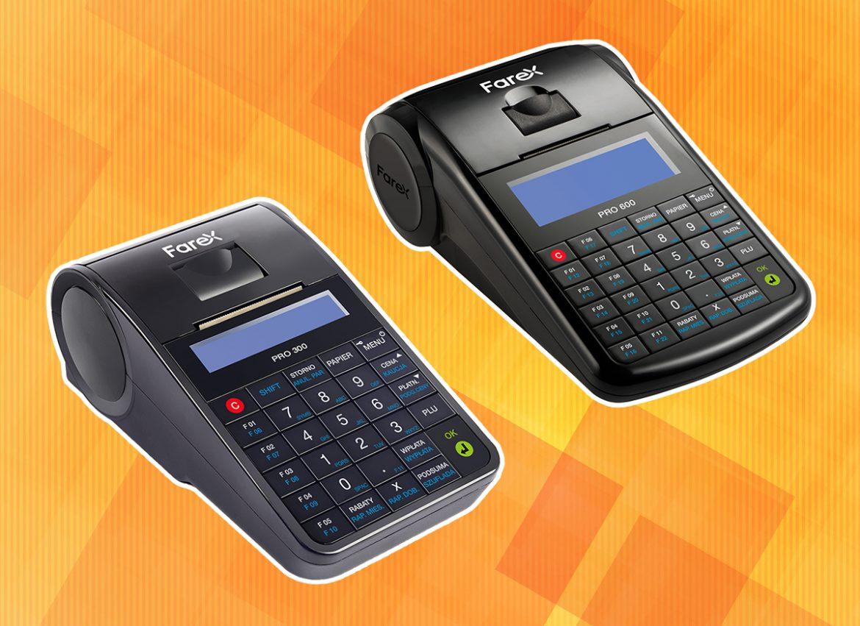 Farex Pro 300 i Farex Pro 600 - kasy online
